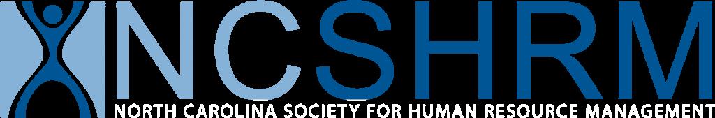 NCSHRM white logo